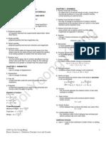 Physics Semestder 1 Definition