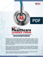 Healthcare Leaders Forum 2015 Brochure