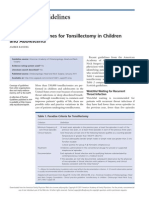 Afp Tonsillectomy in Children and Adult