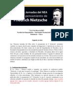 2° Circular - Jornadas Nietzsche del NEA - Versión 1.1.