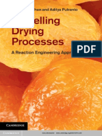 Modelling Drying Processes a Reaction Engineering Approach