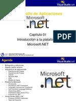 Sesión 01 - Introducción a NET