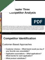 Competitors Analysis- Economics
