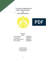 CG 08 (Peran Audit Internal & Manajemen Risiko) - Kel 3