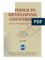 Physics in Developing Countries - Past, Present and Future