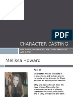 Character Casting