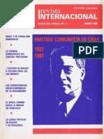 Revista Internacional - Nuestra Epoca N°1 - enero 1983 - Edición Chilena ok