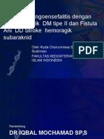 Manajement Kasus Sroke Iskemik Dengan Afasia Motorik