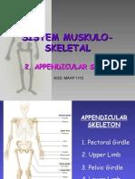 Appendicular Skeleton(12.03.08)