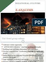 Taj Case-Organisation Culture