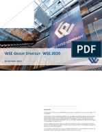 WSE Group Strategy WSE.2020