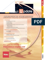 Wako Product Update on Analytical Chemistry