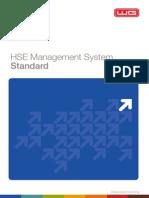 HSE Management System Standard