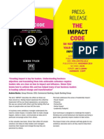 the impact code press release final