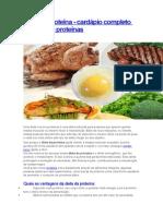 Dieta de Proteína
