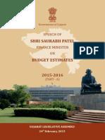 Gujarat Budget 2015-16