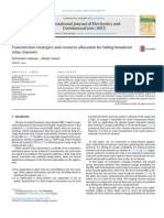 Transmission Strategies and Resource Allocation for Fading Broadcast Relay Channels