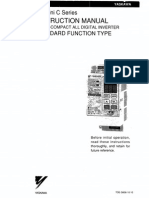 TOE-S606-10.10 vs Mini C Series Instructions Standard (Spec A&E)