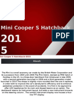 Mini Cooper S Hatchback 2015 Images