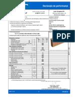 DoP Elem. de Zidarie Leiertherm 10 NF Din Argila Arsa