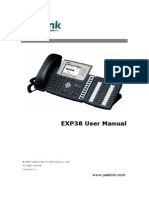 Yealink Exp38 User Manual
