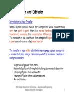 Mass Transfer (Topic 2)