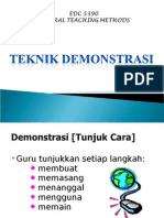Teknik Demonstrasi