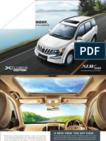 Mahindra XUV500 Xclusive Edition Brochure