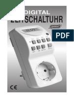 Anleitung Wk 140-b Zeitschaltuhr