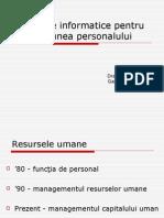 Sisteme Informatice Pentru Gestiunea Personalului (1)