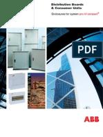 Abb Distribution Boards Tech Spec