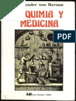 Alquimia y Medicina - Alexander Von Bernus