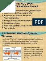 Hukum Ke Nol Dan Pertama (3)