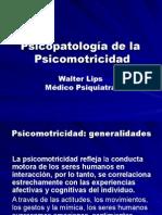 Psicopatologia de La Psicomotricidad UV