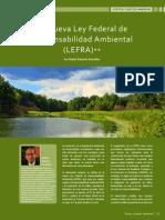 La Nueva Ley Federal de Responsabilidad Ambiental-2