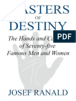 Masters of Destiny_ the Hands and Careers of Seventy-five Famous Men and Women - Josef Ranald