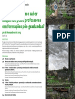 cartaz programa investigacao