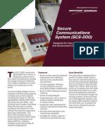 SCS200 Brochure