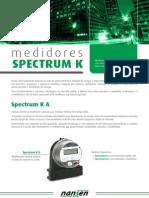 Catalogo Medidor Spectrum K nansen