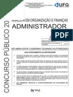 Prova Analista Em Oraganizacao e Financas Administrador