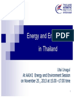 Thailand Emission Standards