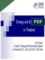 Thailand Emission Standards