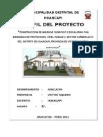 PERFIL - CONSTRUCCION MIRADOR Y ESCALERAS.doc