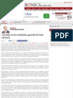 La Crónica de Hoy | Cercanía con la ciudadanía, garantía de éxito electoral