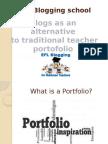 Blogs as platforms for EFL Portofolio