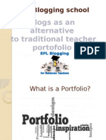 Blogs as platforms for EFL Portofolio