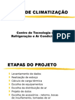 Projeto de Climatização