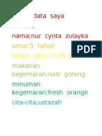 Biodata Cynta