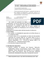 INFORME N° 001- LOCAL DE USOS MULTIPLES PERFIL