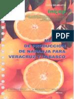 Manual de Produccion de Naranja Para Veracruz y Tabasco